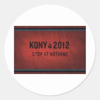 KONY CLASSIC ROUND STICKER