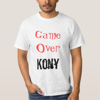 Kony Game Over Kony T-shirt