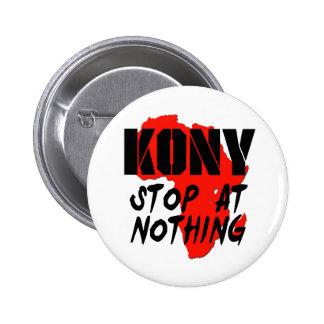 Kony Stop At Nothing Pin