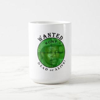 Kony Wanted: Dead or Alive mug