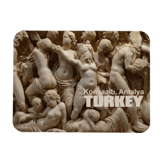 Konyaaltı, Antalya Turkey Fridge Magnet