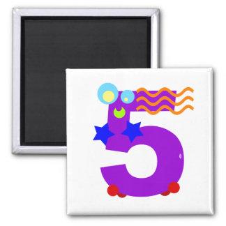 Kooblee 5 square magnet