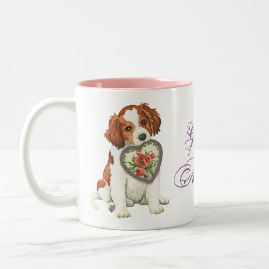 Kooiker Heart Mum Two-Tone Coffee Mug