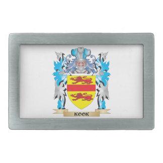 Kook Coat of Arms - Family Crest Belt Buckles