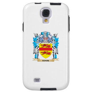 Kook Coat of Arms - Family Crest Galaxy S4 Case