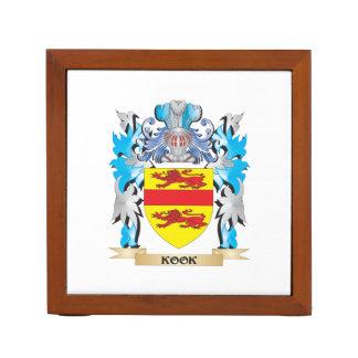Kook Coat of Arms - Family Crest Pencil/Pen Holder