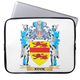 Kook Coat of Arms - Family Crest Laptop Computer Sleeves