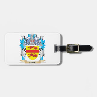 Kook Coat of Arms - Family Crest Luggage Tag
