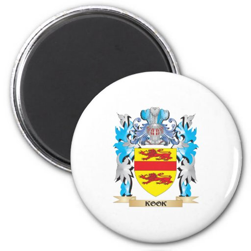 Kook Coat of Arms - Family Crest Magnets