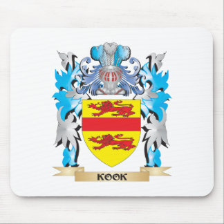 Kook Coat of Arms - Family Crest Mousepads