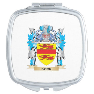 Kook Coat of Arms - Family Crest Compact Mirrors
