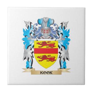 Kook Coat of Arms - Family Crest Ceramic Tile