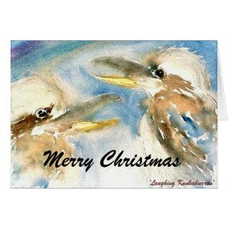 Kookaburra Christmas Card