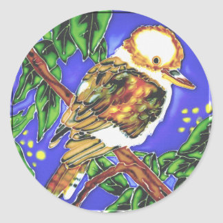 Kookaburra, Cockatoo & Parrot T-Shirts and Gifts! Classic Round Sticker