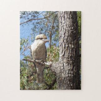 Kookaburra in tree jigsaw puzzle