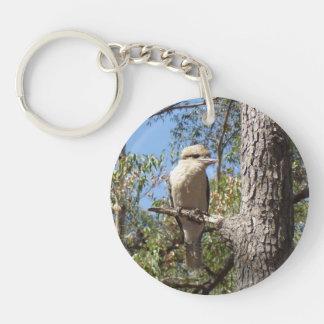 Kookaburra in tree key ring