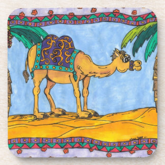 Kooky Camel Cork Coaster Set