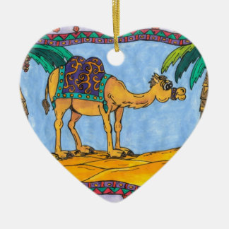 Kooky Camel Ornament