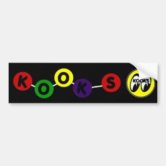 Kooky Eyes Sticker Bumper Sticker