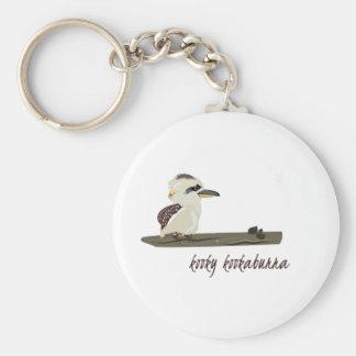 Kooky Kookaburra Key Chain
