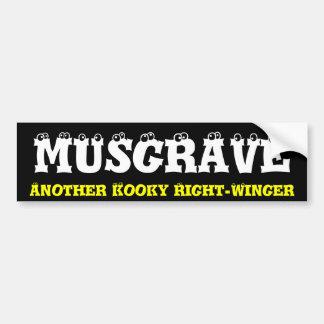 Kooky Right Winger Bumper Sticker
