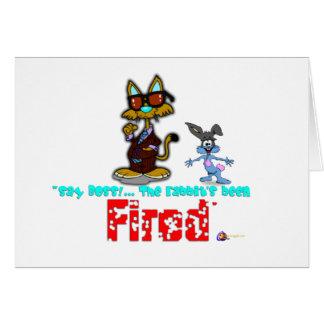 Kool Cat's Revenge.:-) Greeting Card