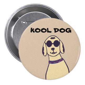 Kool Dog In Shades Button