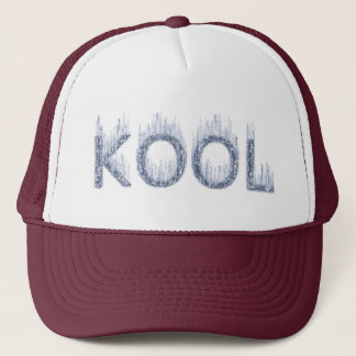 Kool - Ice Cold Design Trucker Hat