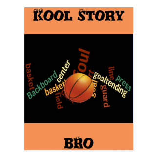 Kool Story Bro Basketball Sport Fanatics cards Postcard