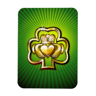 KoolrPix St. Patrick's Day Flexible Fridge Magnet
