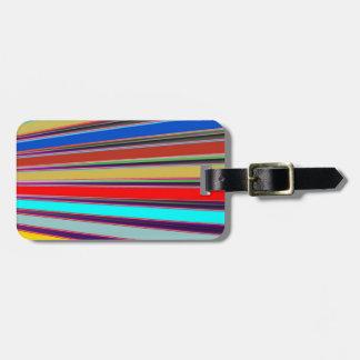 KOOLshades AWESOME Happy Spectrum Luggage Tag
