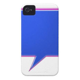 KOOLshades BLUE Talk Bubble - Bulk Discount pricin Case-Mate iPhone 4 Cases