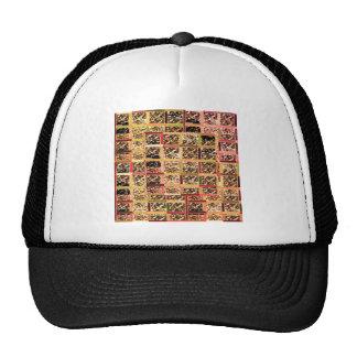 KOOLshades Deco : Checkered Glitter Gold Sparkle Cap