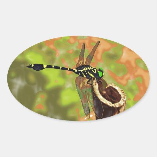 kooniyanma dragonfly stickers