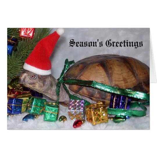 Koopa's First Holiday Greeting Card