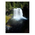 Koosah Falls Oregon Waterfall Postcard