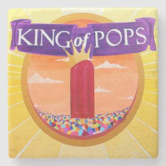 KOP Atlanta, King Of Pops Marble Coaster Stone Coaster