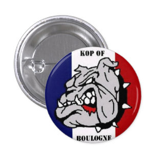 KOP of Boulogne - PSG -France Pinback Buttons