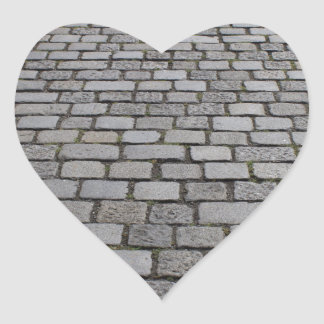 Kopfsteinpflaster Heart Sticker