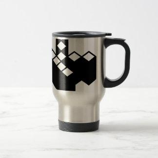 Kopimism Logo Stainless Steel Travel Mug