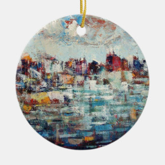 Korcula Town Christmas Ornament