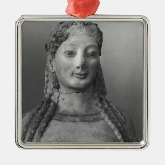Kore known as Kore wearing a peplos Christmas Ornament