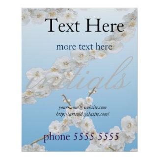 Korea Cherry Blossoms White 11.5 Cm X 14 Cm Flyer