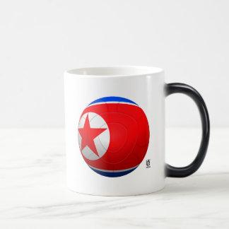 Korea DPR 조선민주주의인민공화국  Football Morphing Mug