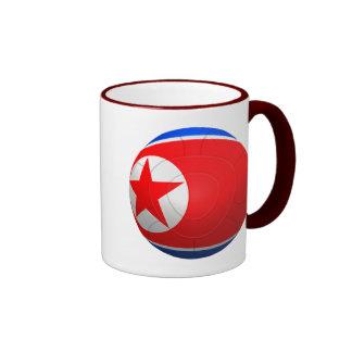 Korea DPR 조선민주주의인민공화국  Football Ringer Mug