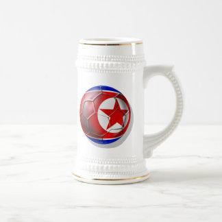 Korea DPR Chollima soccer football 2010 gifts Beer Steins