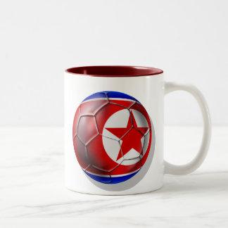 Korea DPR Chollima soccer football 2010 gifts Two-Tone Mug