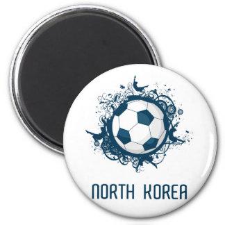 Korea DPR Football 6 Cm Round Magnet
