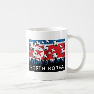 Korea DPR Football Basic White Mug