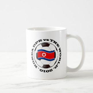 Korea DPR vs The World Basic White Mug